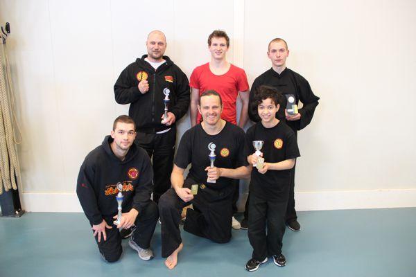 Wing Chun Tong clubkampioenschap prijswinnaars